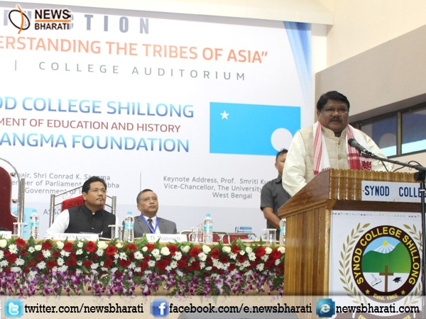 Jual Oram hails for strengthening tribal studies & research during 'Tribes of Asia' seminar