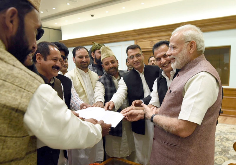 Empower Panchayats for development of rural areas of J&K: Panchayat Conference calls on PM