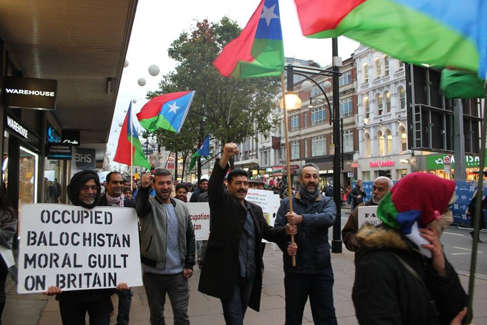 Pakistan intensified attacks against Baloch people residing on CPEC route: Baloch leaders protest