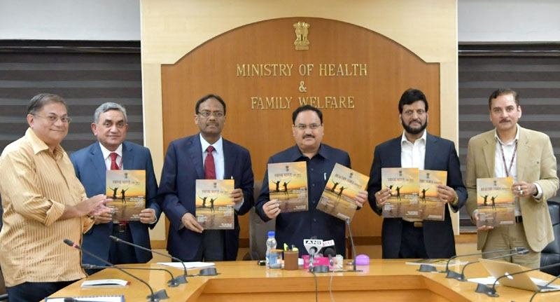 Union Minister J P Nadda launches multimedia Mobile Application for stress management