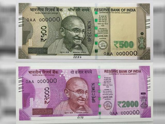 New high-security Rs500 and Rs2000 #CurrencyNotes to be available from Nov 11: Read Implementation model of FinMin