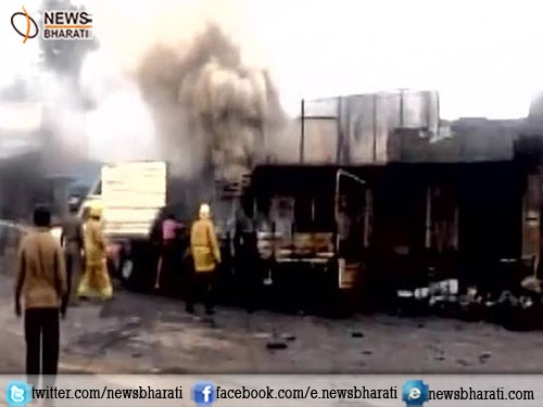 Explosive unit in Tamil Nadu catches fire killing at least 10 people, about 15 others injured