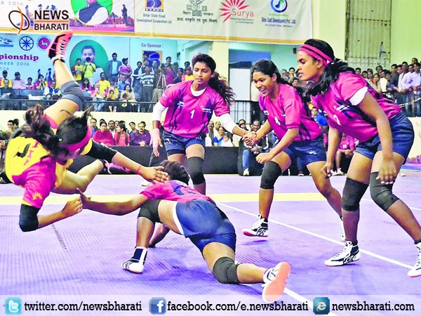 Indian Railways clinched the title of 64th Senior 64th Senior National Women Kabaddi Championship