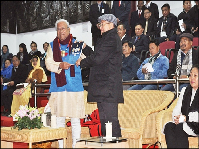 Governer Acharya releases 'Nagaland Vision Document'