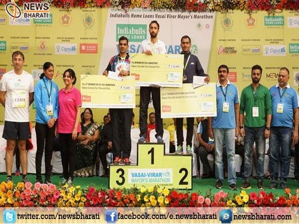 Rashpal Singh won the men's full marathon title shattering Olympian Kheta Ram's record