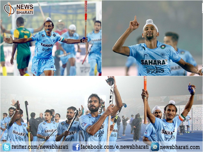 Men's Junior Hockey World Cup: India beats South Africa by 2-1, enters into quarter finals