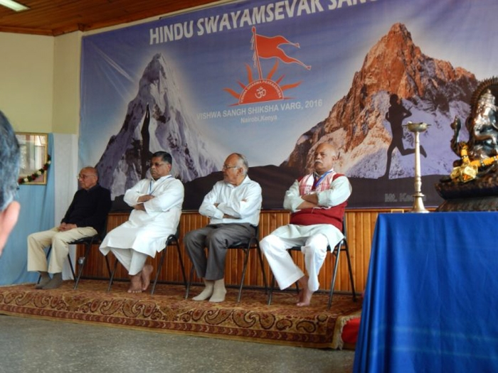 HSS holds 21-day 'Vishwa Sangh Shiksha Varg-2016' at Nairobi