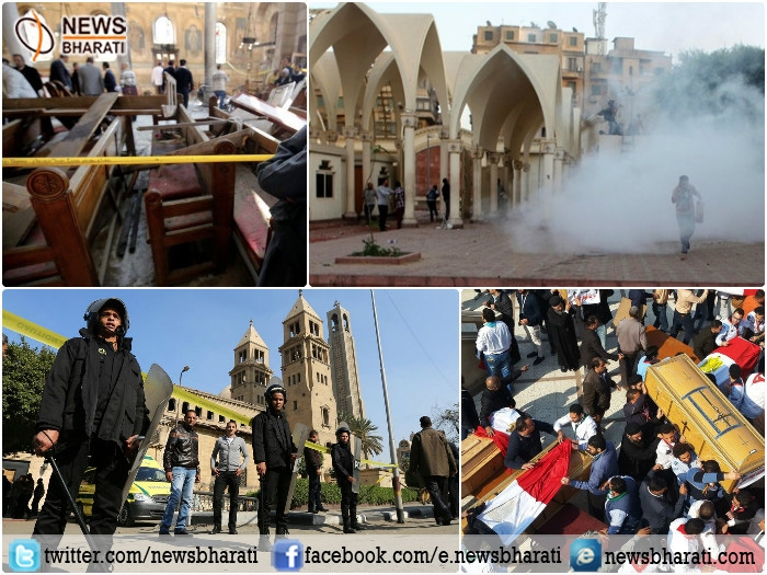Terror group ISIS claims responsibility for a suicide bombing at Cairo's main Coptic cathedral