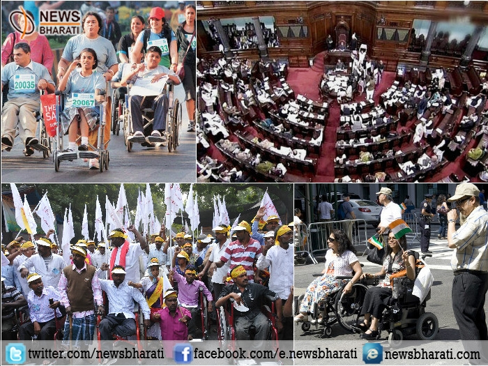 Most awaited Rights for Persons with Disability (RPwD) Bill unanimously passed by Rajya Sabha