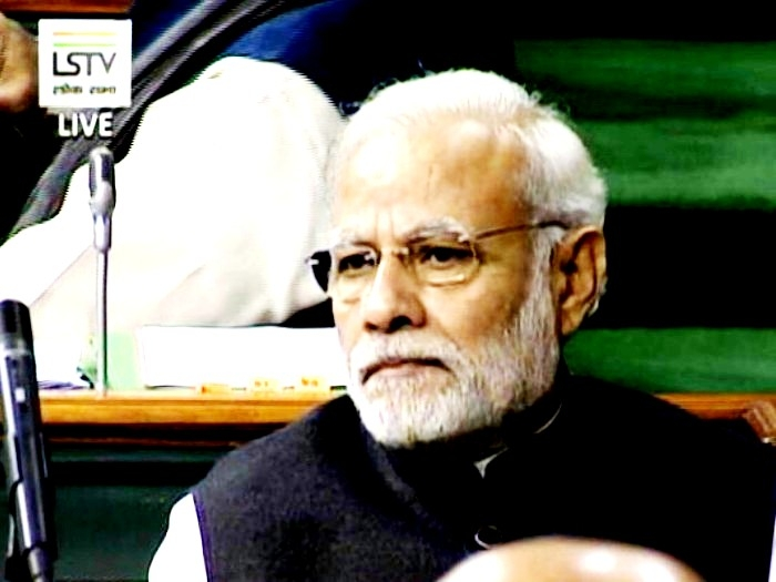 Party above nation for Congress says PM Modi: Thrashers Oppn for challenging anti-graft efforts