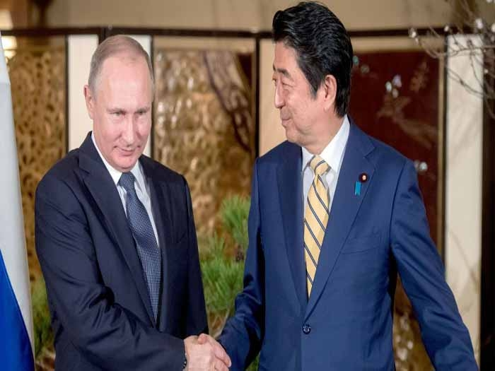 Putin, Abe discuss sovereignty of Kurile Islands