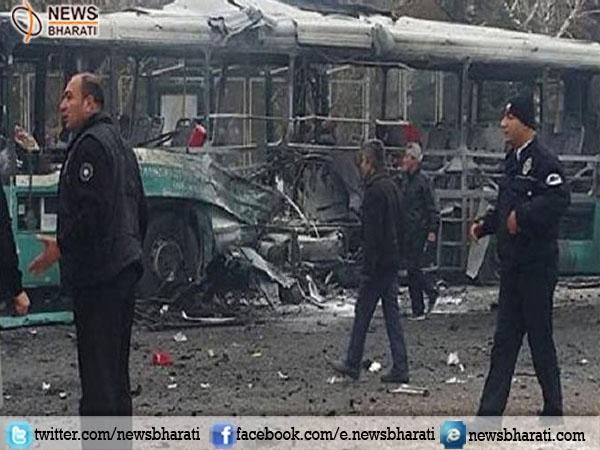 Turkey blasts kills 13 soldiers in the Kayseri province; several wounded