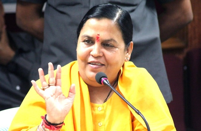 Government won't give green signal to big dams like tehri : Union Minister Uma Bharti