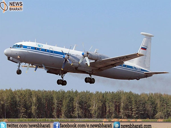 Military plane with 39 passengers onboard crashes in Russia
