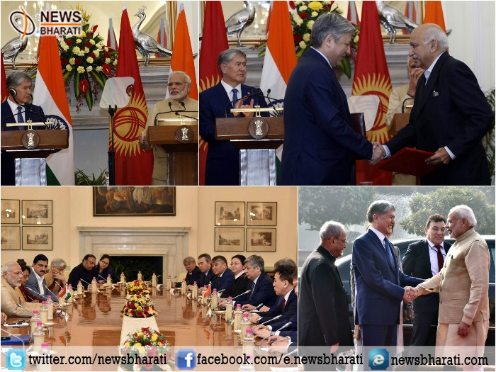 India applauds Kyrgyzstan for being valuable partner in common pursuit; signs six agreements