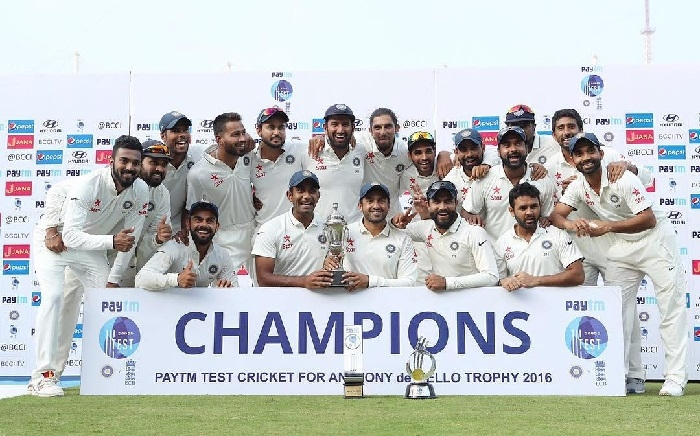 India beats England by innings and 75 runs, clinched series