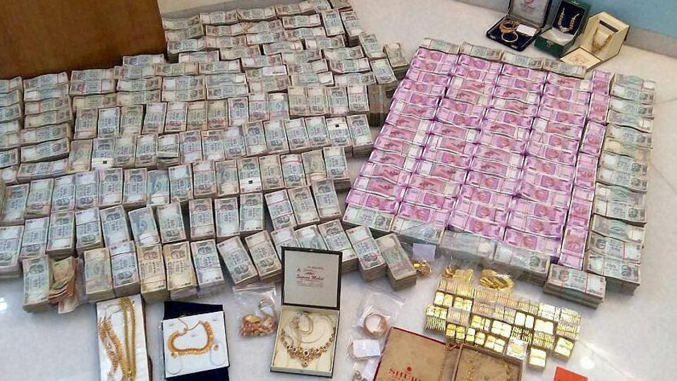 So far Rs 3,185 crore Of Un-disclosed Income and Rs 86 Crore In New Notes seized