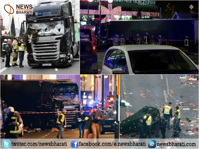 IS claims Berlin truck rampage; police launches search operation to arrest perpetrator