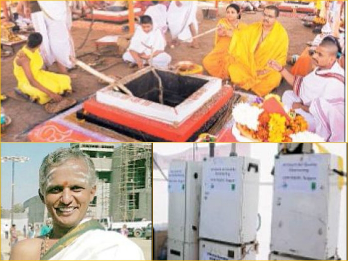Vedic hymns are scientific equations: Veda Ravishankar