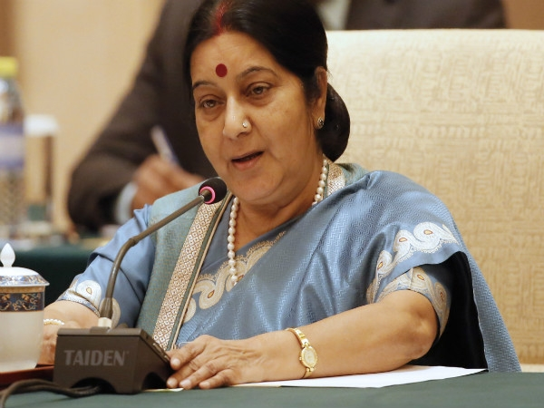 Sushma Swaraj helps rape victims despite of her weak medical condition