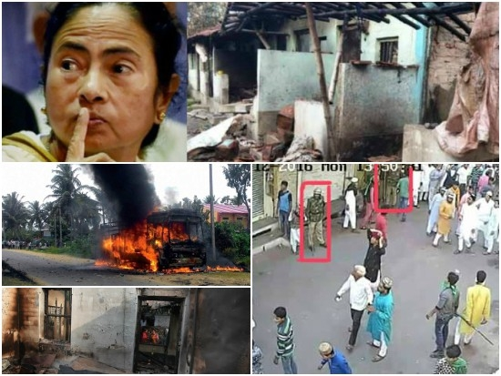 #Dhulagarh violence is vicious attempt for ethnic cleansing of Hindus from West Bengal