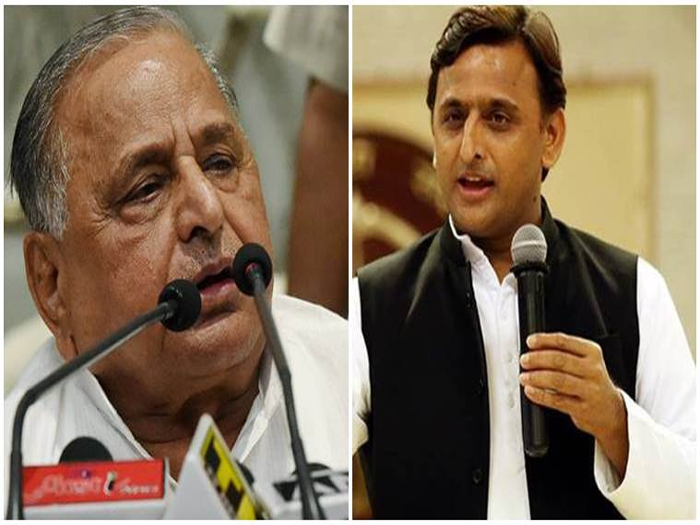 Split in SP as Mulayam expels CM Akhilesh, Ram Gopal Yadav for 6 years