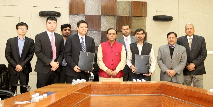Gujarat government sings MoU of $5.5-bn with leading infra company of china