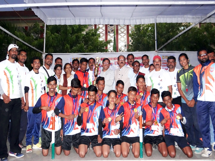 Maharashtra boys bag winners' trophy at National Lagori tournament