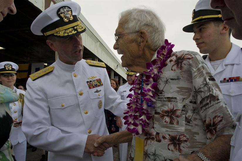 World War II veterans mark 75 Years of the Pearl Harbor attack