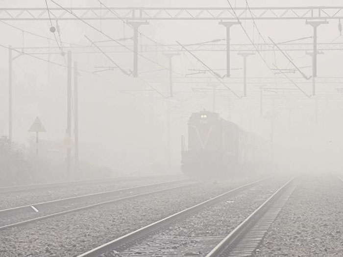 Train movement goes berserk due to dense fog