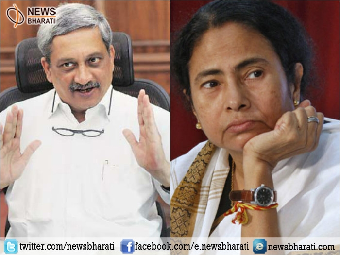 Parrikar expresses pain on allegations made by Mamata on Indian army