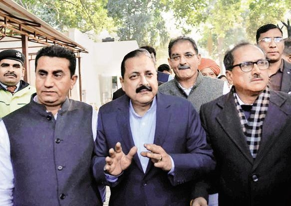 Proud to see take off of public toilet construction project in border district of Kathua, says Jitendra