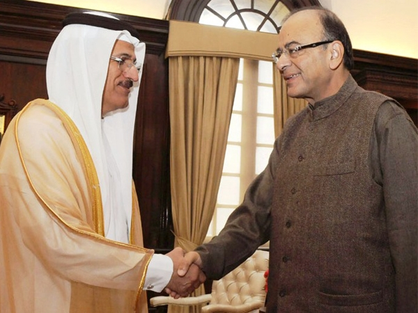 Jaitley meets UAE's Sultan Al Mansoori; both sides stress need for cooperation between two nations