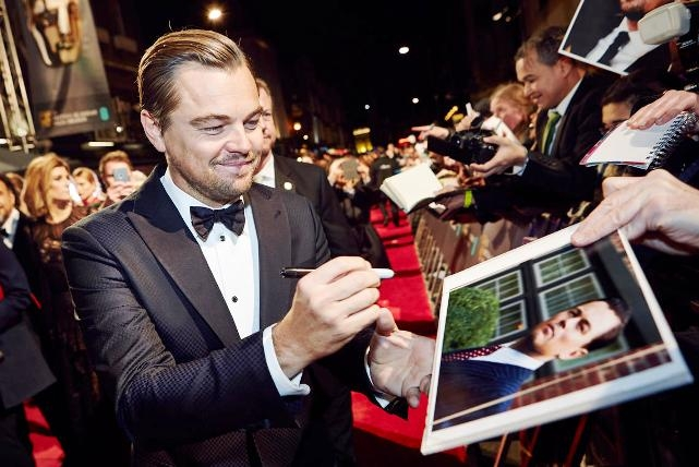 Leonardo DiCaprio's 'The Revenant' sweeps top honours; dominates this year's BAFTA film awards