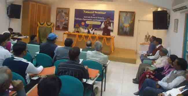 Two-day national workshop on Possibilities in Ayurveda concludes