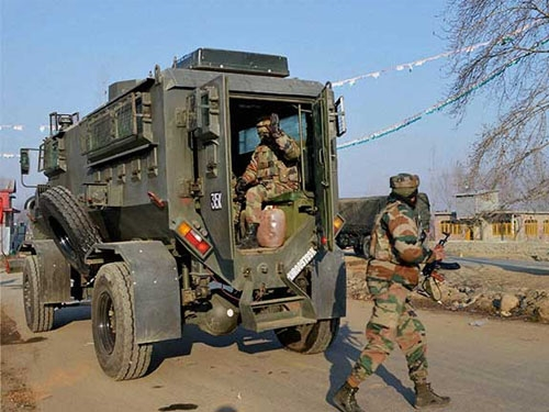 One CRPF jawan killed in encounter with militants at EDI campus, 11 others injured