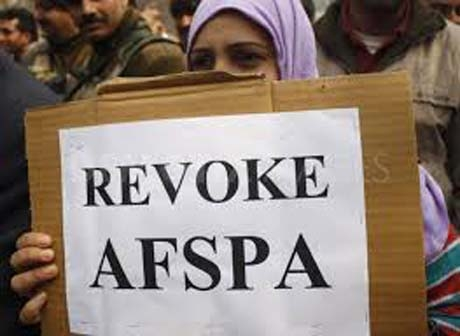 Amy against revoking AFSPA, DDA