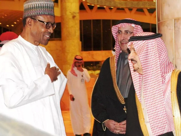 Buhari reachesRiyadh on an official visit to revamp Nigerian economy with various opportunities