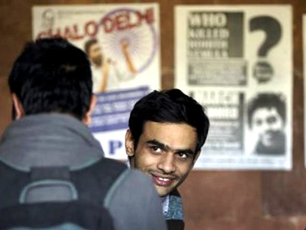 #JNURow: Umar Khalid, Anirban surrender in midnight; HC slams saying law wont function on their 'whims and fancies'