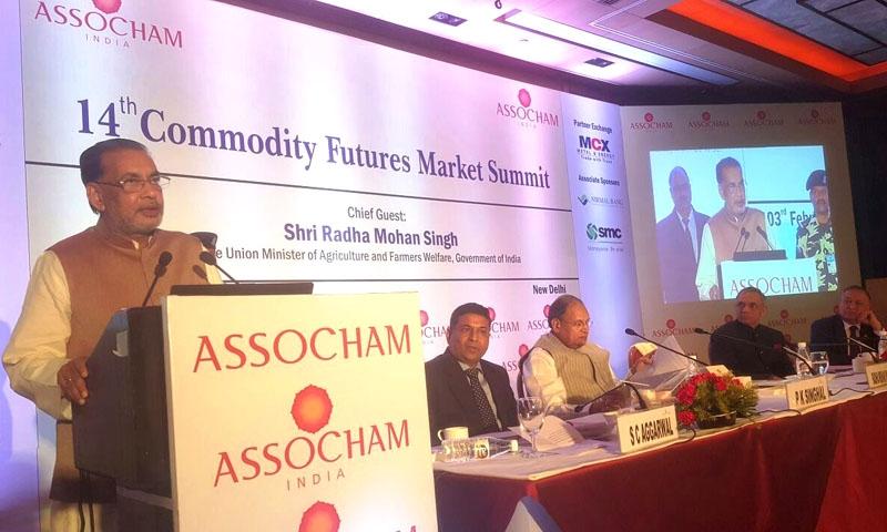 औद्योगिक विकास के साथ कृषि विकास भी आवश्यक है: राधा मोहन सिंह
