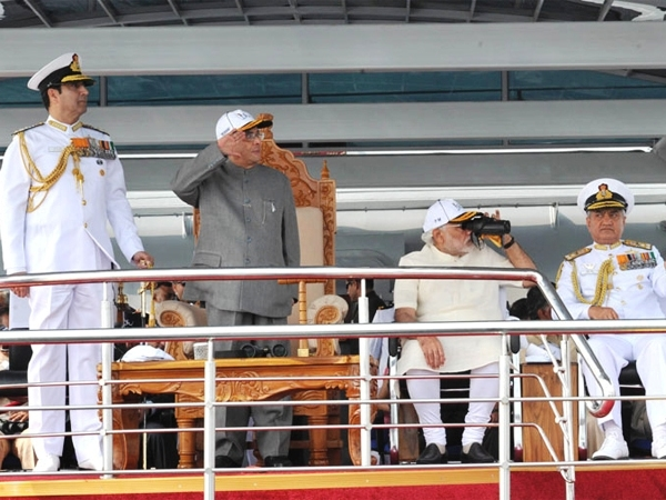 President salutes Nations' contribution at #IFR2016; says India astride the major shipping routes