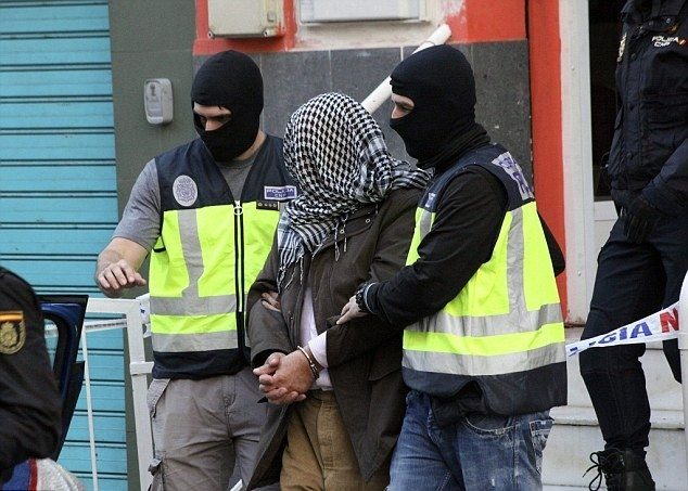 Seven people arrested in Spain, Suspicion of Links to ISIS