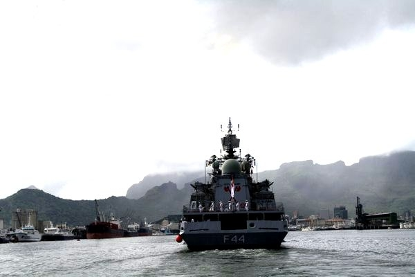 INS Tabar visits Mauritius to strengthen existing bonds of friendship between the two nations