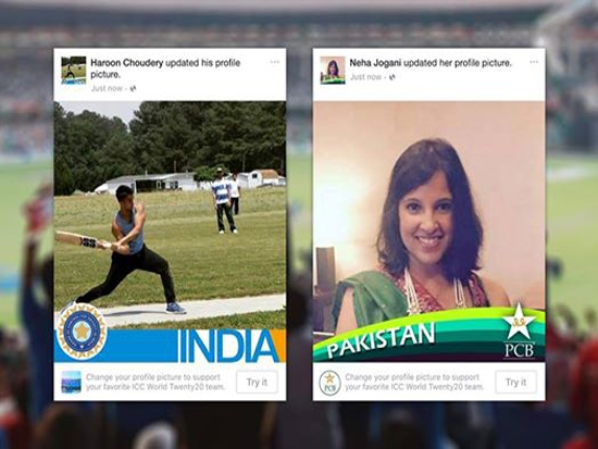 #ProfilesForPeace: India Pakistan fan tussle to spread peace in this T20 clash