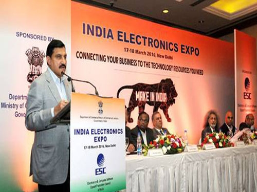 Chowdary enlightens current status of electronic sector during 2nd edition of India Electronics Expo
