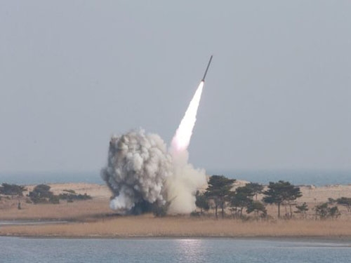 North Korea fires ballistic missile into the sea off eastern coast, Japan President condemns action