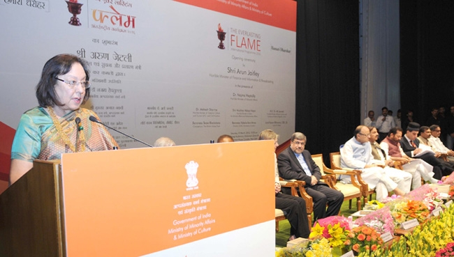 Parsis set new record by being selfless in service of nation: Dr Heptulla