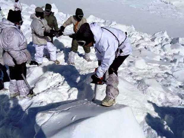 Mortal remains of missing soldier in Kargil avalanche recovered after 2 days