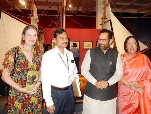 Naqvi inaugurates Parsi community's exhibition; says it reminds of glorious traditions of Minority communities