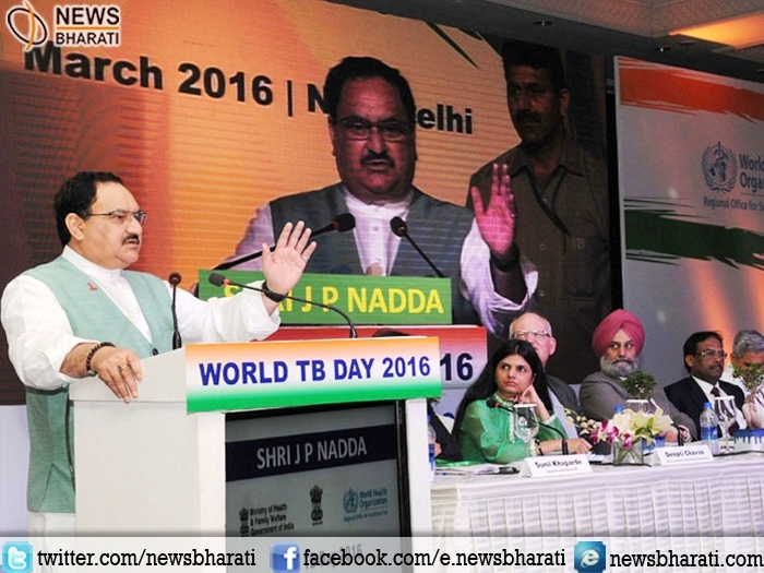 On the eve of 'World TB Day, Nadda launches over 500 CBNAAT machines for quick diagnosis of Tuberculosis